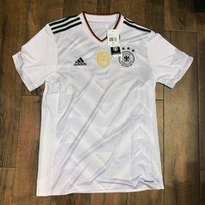 adidas Germany men's soccer jersey white Fifa M